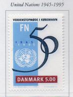 PIA - DANIMARCA -1995 : 50° Anniversario Dell' O.N.U.    - (Yv 1098) - Danimarca