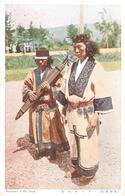 POSTAL   JAPON  - MANNERS OF THE AINU - Japón