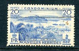 Nouvelles Hebrides 1957 Pictorials - 20c Value Used (SG F99) - French Legend