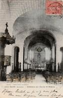 BLAYE - Intérieur De L'Eglise ST-ROMAIN. Cliché RARE - Blaye