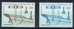 Saint Pierre And Miquelon, Caulking Tools, 1992, MNH VF  A Pair - St.Pierre & Miquelon