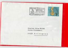 SVIZZERA - IPPICA EQUITAZIONE - HORSE - SAIGNELEGIER - 1982 - MARCHE' CONCOURS NATIONAL CHEVAUX - Ippica