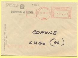 ITALIA - ITALY - ITALIE - 2002 - 00,41€ EMA, Red Cancel - Prefettura Di Firenze - Viaggiata Da Firenze Per Lugo - Affrancature Meccaniche Rosse (EMA)