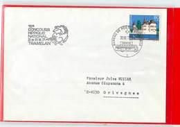 SVIZZERA - IPPICA EQUITAZIONE - HORSE - TRAMELAN 1977 - CONCOURS HIPPIQUE NATIONAL 1977  -  Poste Mobile - Ippica