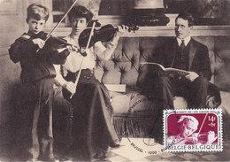MAXIMUM CARD MUSIC ORGAN  VIOLIN - Boites A Timbres