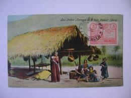 "PERU - POSTCARD ""THE INDIAN CAMPAS IN THE LOW PERENE"" IN THE STATE - Peru"