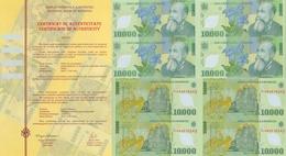 ROMANIA * ROUMANIE * RUMANIEN * ORIGINAL  MINI-SHEET  2000 - Roumanie