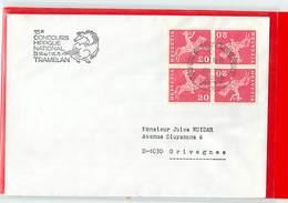 SVIZZERA - IPPICA EQUITAZIONE - HORSE - TRAMELAN 1976 - CONCOURS HIPPIQUE NATIONAL 1976  -  Poste Mobile - Ippica