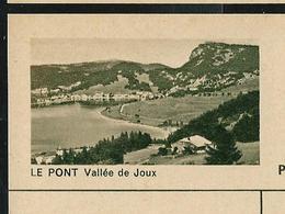 Carte Illustré Neuve N° 182 - 0221 D  -  LE PONT Vallée De Joux  (Zumstein 2009) - Entiers Postaux