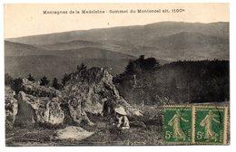 Tarjeta Postal  Montagnes De La Madelaine. Circulada - Francia