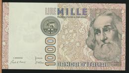 °°° ITALIA 1000 LIRE MARCO POLO AUNC °°° - [ 2] 1946-… : République