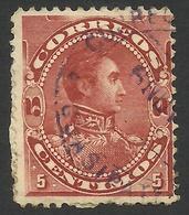 Venezuela, 5 C. 1893, Sc # 123, Used - Venezuela