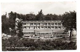 Tarjeta Postal Circulada  Hotel .de Wageningse Berg. - Wageningen