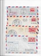 USA First Flight Covers Lot - Covers & Documents