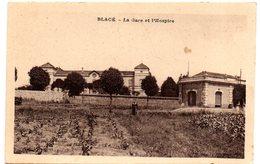 Tarjeta Postal Blace - La Gare Et L'hospice. - Sin Clasificación