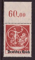 Deutsches Reich 135 II Postfrisch Oberrand Geprüft (21801) - Deutschland
