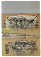 Tematica Arte Lische Sui Mattoni Dipinto Di Pantieri – Forlì Viaggiata 1968 Condizioni Come Da Scansione - Schilderijen