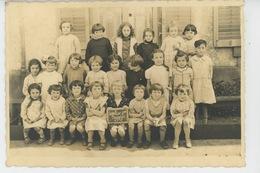 LAVELINE DEVANT BRUYERES - Beau Cliché Photo De Classe Datée 1939 , Ecole Des Filles - France