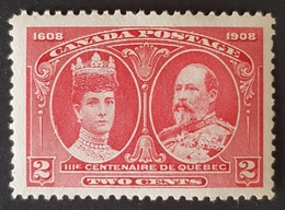 1908, The 300th Anniversary Of The Founding Of Quebec, MNH, Canada - 1903-1908 Edward VII