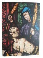 Detail Einzug In Jerusalem / Erfurt Kirche 14 Jh. - Tableaux, Vitraux Et Statues