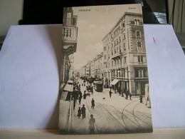 Datata 28/12/1909 - Trieste  - Corso - Tram Filobus Bus - Animata - Trieste