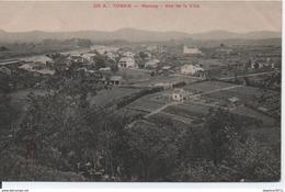 Tonkin-Moncay-Vue De La Ville (en L'état) - Vietnam
