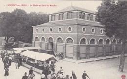 Aube - Nogent-sur-Seine - La Halle Et Place Du Marché - Nogent-sur-Seine