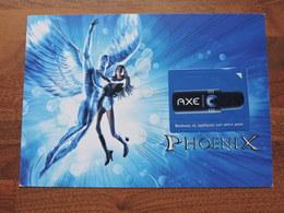 AXE PHOENIX Avec Patch  Ref 2333 - Publicité