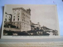 1925 Circa - Repubblica Di S. Marino - Fianco Del Nuovo Palazzo Governativo - Ditta Rufo Reffi - San Marino