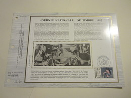 1er JOUR.DOCUMENT PHILATÉLIQUE C.E.F. - JOURNÉE NATIONALE DU TIMBRE 1982. Oblitéré Le 27/03/1982. - Other