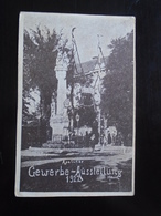 APATIN SERBIA - APATINER - GEWERBE AUSSLENUNG 1922 - TRAVELLED 1923 - Serbia