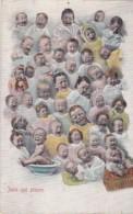 """CPA Fantaisie - Bébé Multiples- """"Jean Qui Pleure"""" 1905 (lot Pat 50) - Babies"""