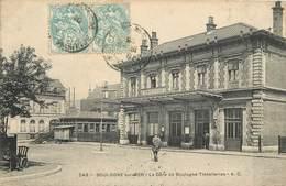 BOULOGNE SUR MER - La Gare De Boulogne Tintelleries. - Bahnhöfe Ohne Züge