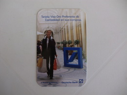 Bank/Banque/Banco Deutsche Bank Pocket Calendar 2008 - Calendriers