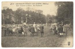 CPA 69 CHARBONNIERES LES BAINS Les Courses D' Anes - Au Paddock - Charbonniere Les Bains
