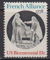 USA 1978 French Alliance 1v ** Mnh (41804B) - Verenigde Staten