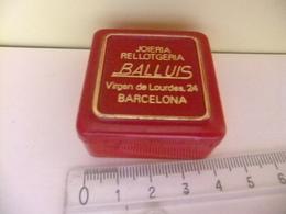 Caja Joieria Rellotgeria BALLUIS Barcelona - Cajas