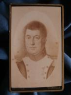 Photo CDV Roth à Thionville - Repro D'un Portrait Peint Officier 1er Empire Légion D'honneur (Leroy)  L425 - Old (before 1900)