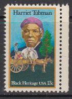 USA 1978 Harriet Tubman 1v ** Mnh (41804E) - Verenigde Staten