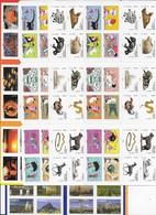 Lot 41 Carnets Commémoratifs Adhésifs Forte Faciale - Commémoratifs