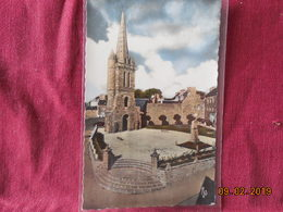 CPSM - Paimpol - La Vieille Tour De L'ancienne Eglise, Le Square Et Le Monument Botrel - Paimpol