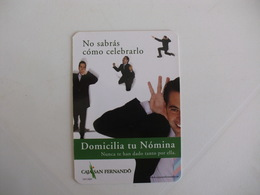 Bank Banque Banco Caja San Fernando España Spain Pocket Calendar 2003 - Calendriers