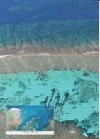 Australia 2013 Coral Reef, Above Ningaloo Reef WA, Maximum Card - Maximum Cards