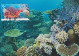 Australia 2013 Coral Reef, Below Great Barrier Reef, Maximum Card - Maximum Cards