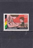 Zimbabwe Oblitéré  1985    N°  110  Infirmière - Zimbabwe (1980-...)