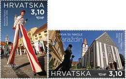 HR 2018-1322-3 TURISAM, HRVATSKA CROATIA, 1 X 2v, MNH - Kroatien