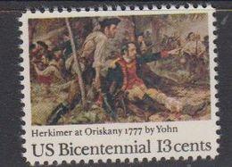 USA 1977 Bicentennial / Battle Of Oriskany 1v ** Mnh (41805B) - Verenigde Staten
