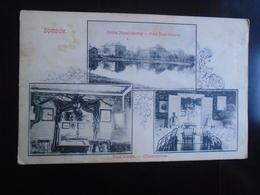 ZOMBOR - SOMBOR SERBIA - FERENC JOZSEF LAKTANYA/KASERNE - TISZTI ETKEZDE - OFFICERS MENAGE - TRAVELLED 1910 - Serbia