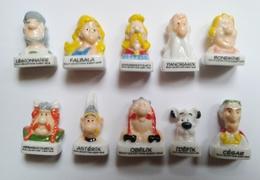 Fève -fèves Série Complète Astérix Obélix Bustes - BD