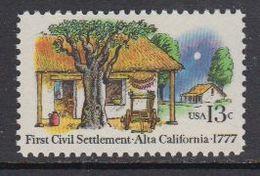 USA 1977 First Civil Settlement Alta California ** Mnh (41805D) - Verenigde Staten